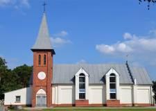 Kościół w Orzeszkowie - 2012 r.