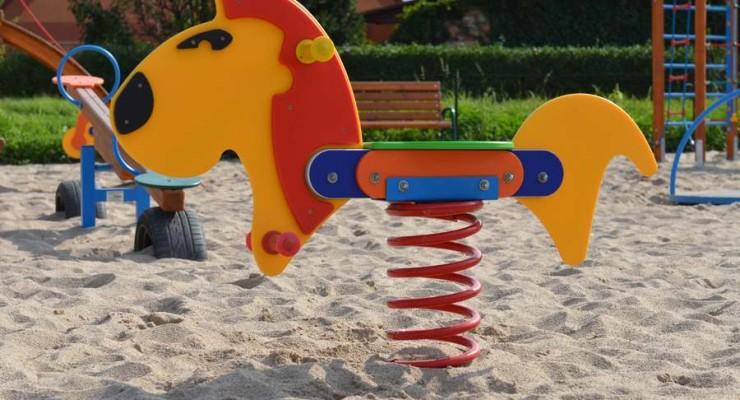 Otwarcie placu zabaw w Orzeszkowie
