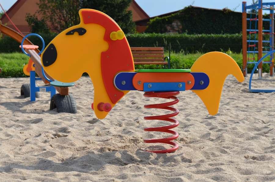 Nowy plac zabaw w gminie Wińsko