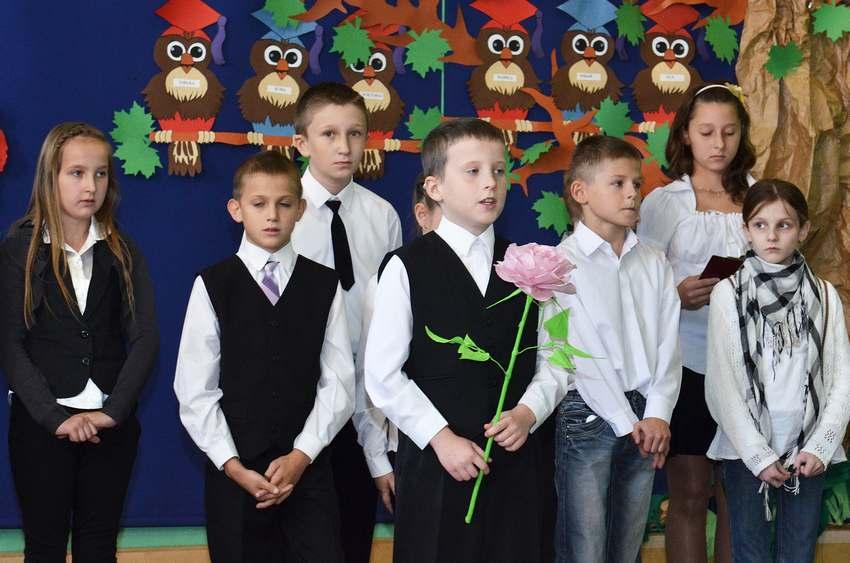 Dzień nauczyciela w Krzelowie