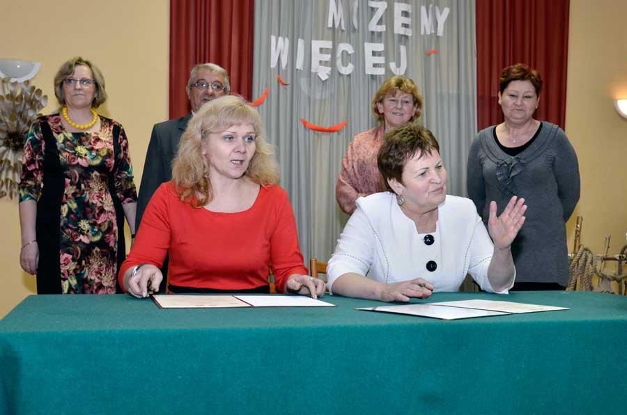 Beata Szyszka i Wanda Hańska