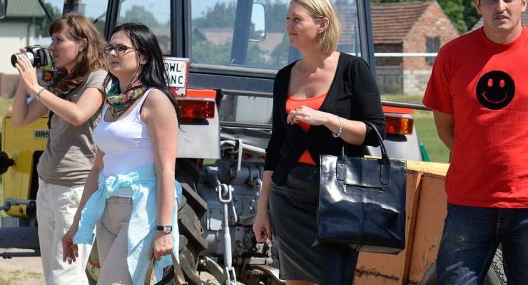 Wizytacja w gminie Wińsko