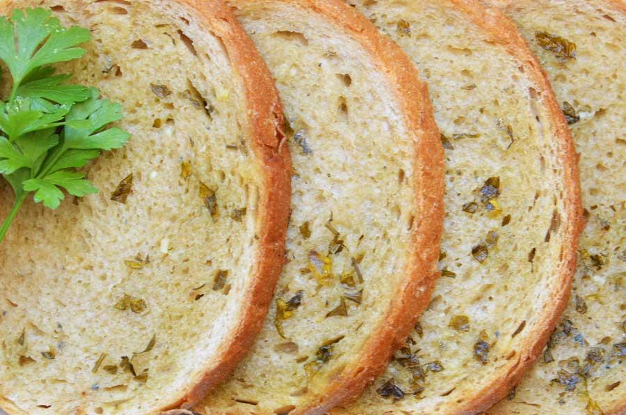 Chleb z serem gorgonzola