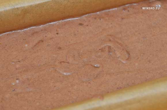 Masa piernikowa w blaszce