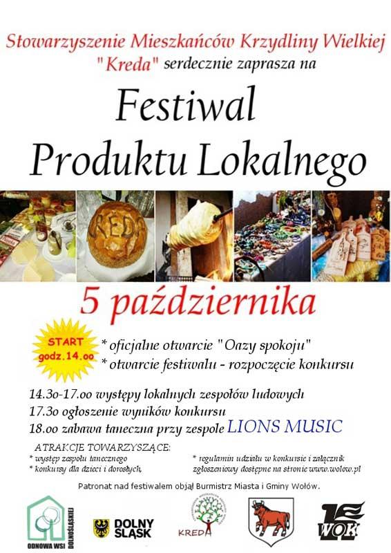 Festiwal Produktu Lokalnego w Krzydlinie Wielkiej