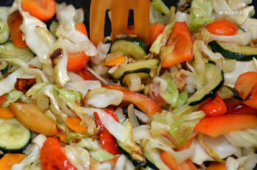 Obsmażamy warzywa