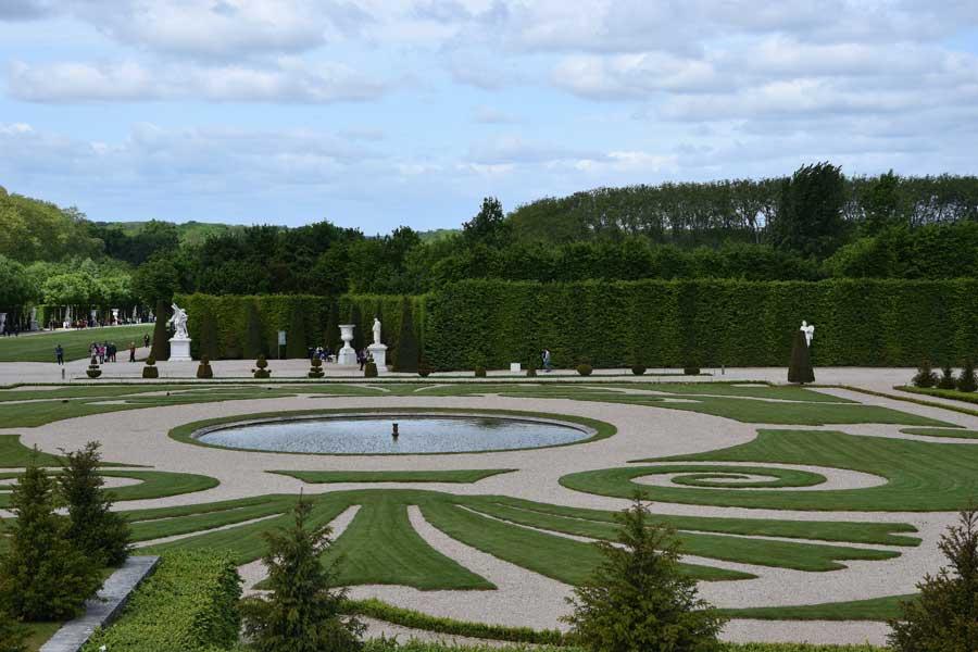 Ogrody wokół Wersalu