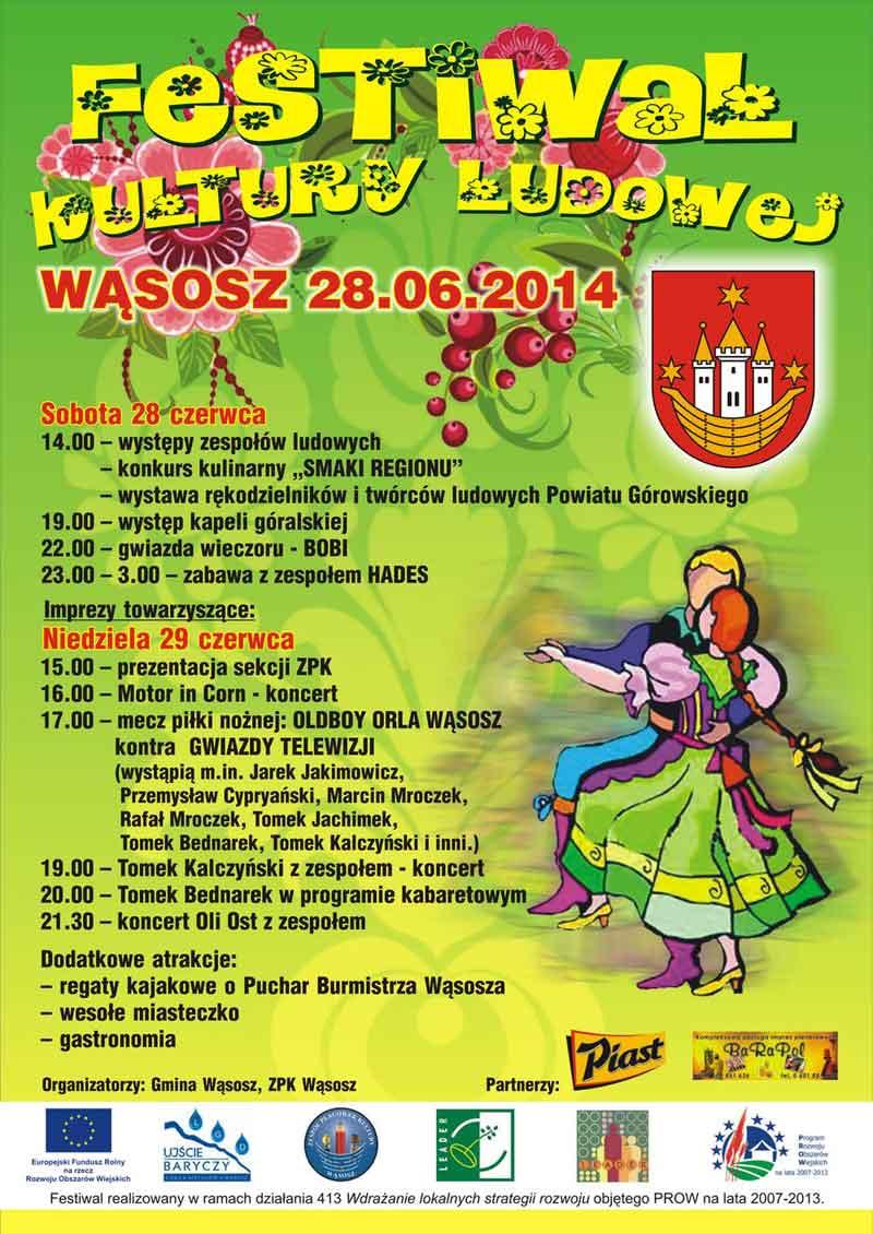 Festiwal Kultury Ludowej - Wasosz 2014