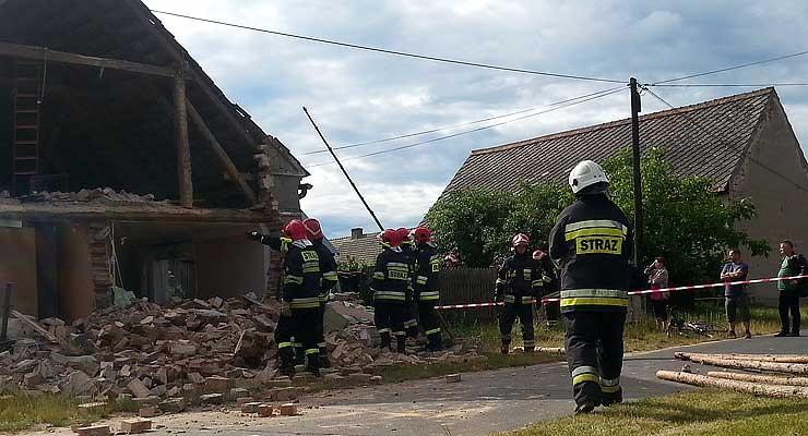Udana akcja strażaków w Orzeszkowie