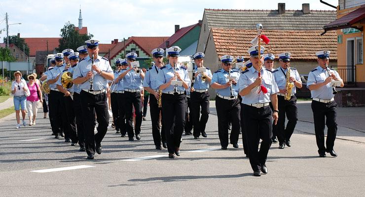 Orkiestra Komendy Wojewódzkiej Policji we Wrocławiu. Lipcówka 2013