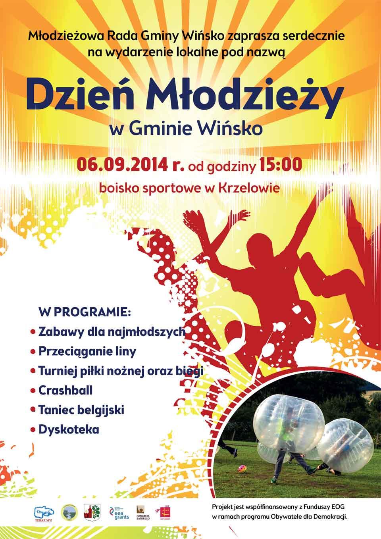 Dzień Młodzieży w Gminie Wńsko. Krzelów, 6 września 2014