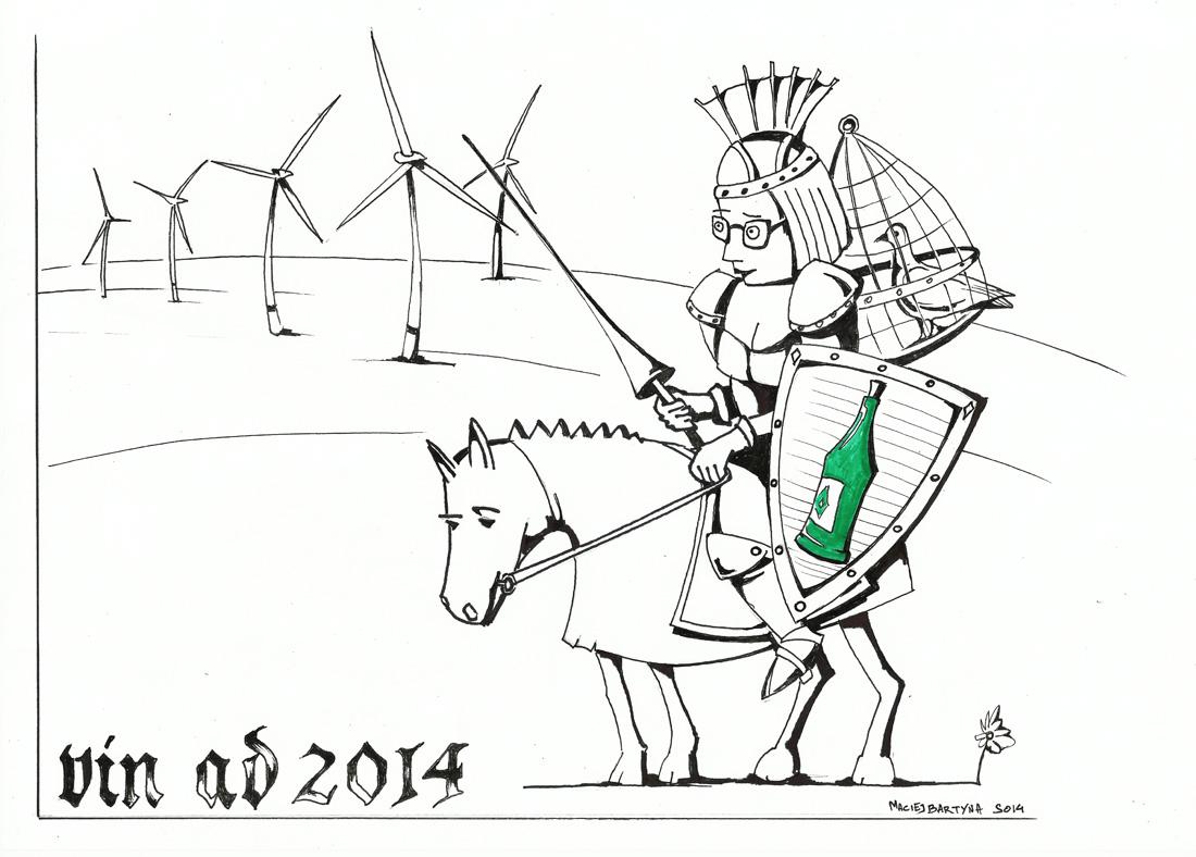 Walka z wiatrakami. Wińsko 2014
