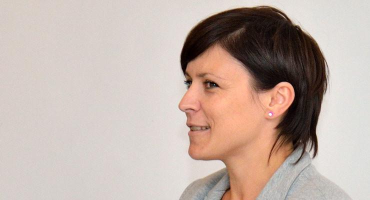 Agnieszka Wrona na sesji Rady Gminy Wińsko