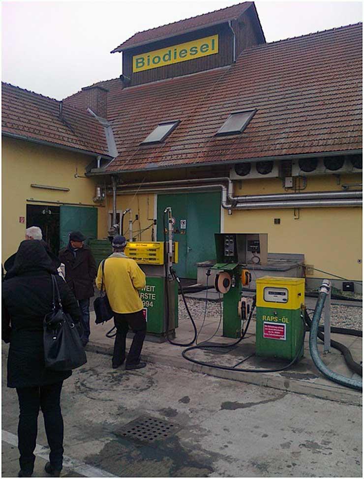 Dystrybutory biodiesla