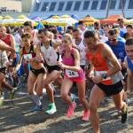 Start Biegu po Winne Grono 2014