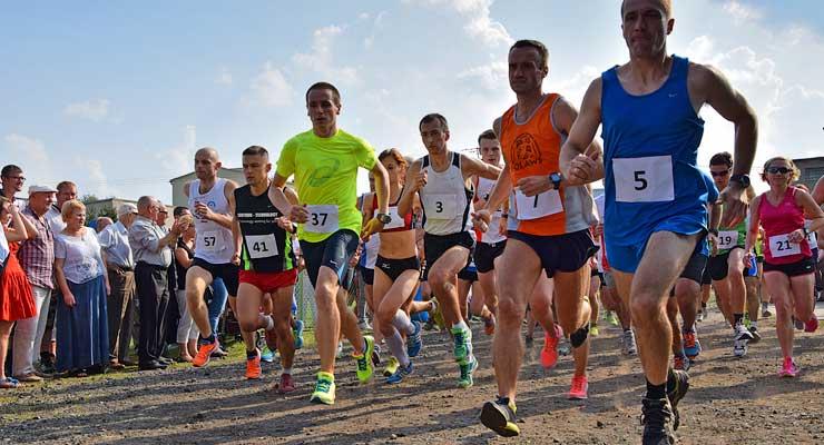 Start Biegu po Winne Grono