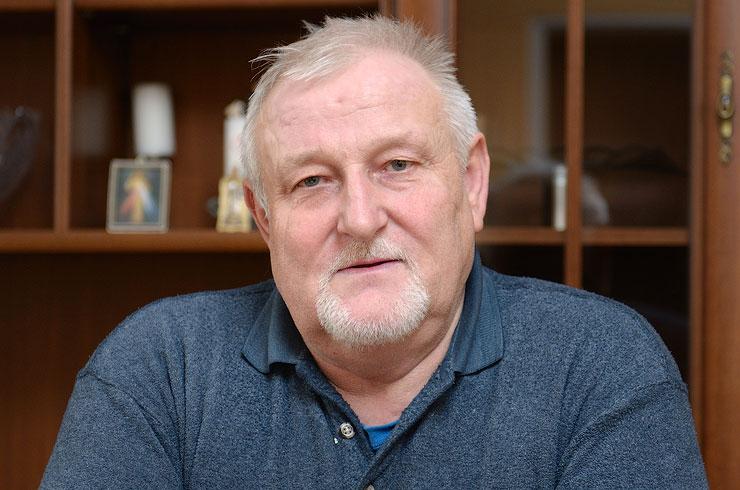 Stanislaw Bagiński. Sołtys Grzeszyna
