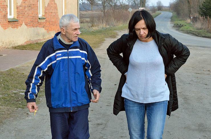 Wiesław Stępień rozmawia z Joanną Skczylas