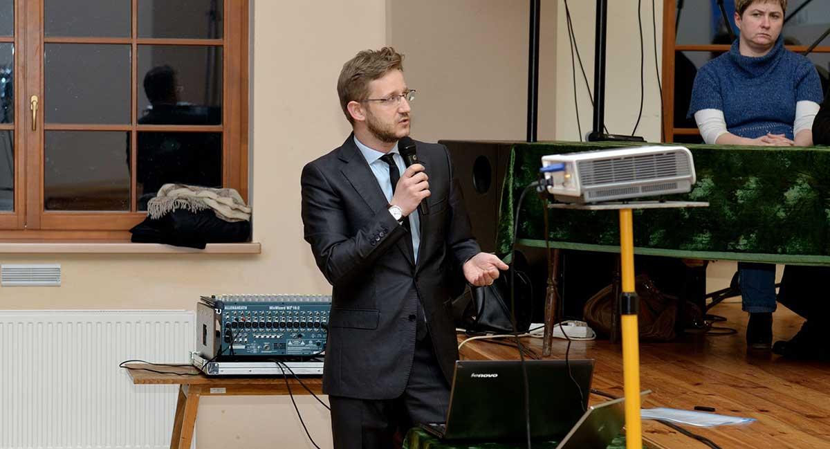 Zebranie w sprawie biogazowni i bioelektrowni