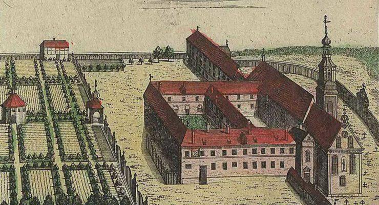 Kuchnia klasztorna w Garnierówce