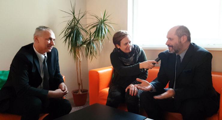 Wywiad z artystami męskiego chóru z Wińska