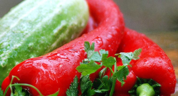 Kolorowy słoik. Konserwujemy warzywa
